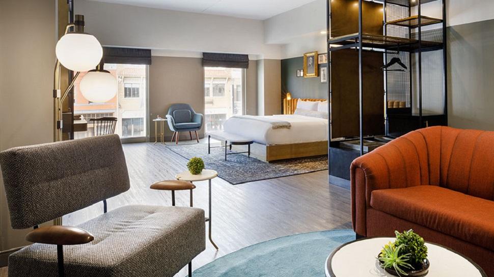 Loft King Junior Suite at Cyrus Hotel - Tribute Portfolio, Kansas